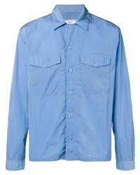 Veste-chemise bleu clair Ami Paris