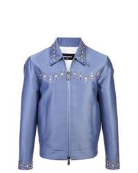 Veste-chemise bleu clair DSQUARED2