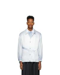 Veste-chemise bleu clair Fumito Ganryu