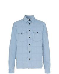 Veste-chemise bleu clair MONCLER GRENOBLE