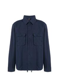 Veste-chemise bleu marine BOSS HUGO BOSS