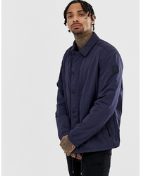 Veste-chemise bleu marine BOSS