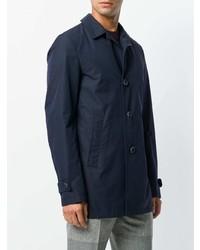 Veste-chemise bleu marine Herno