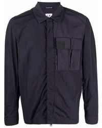 Veste-chemise bleu marine C.P. Company