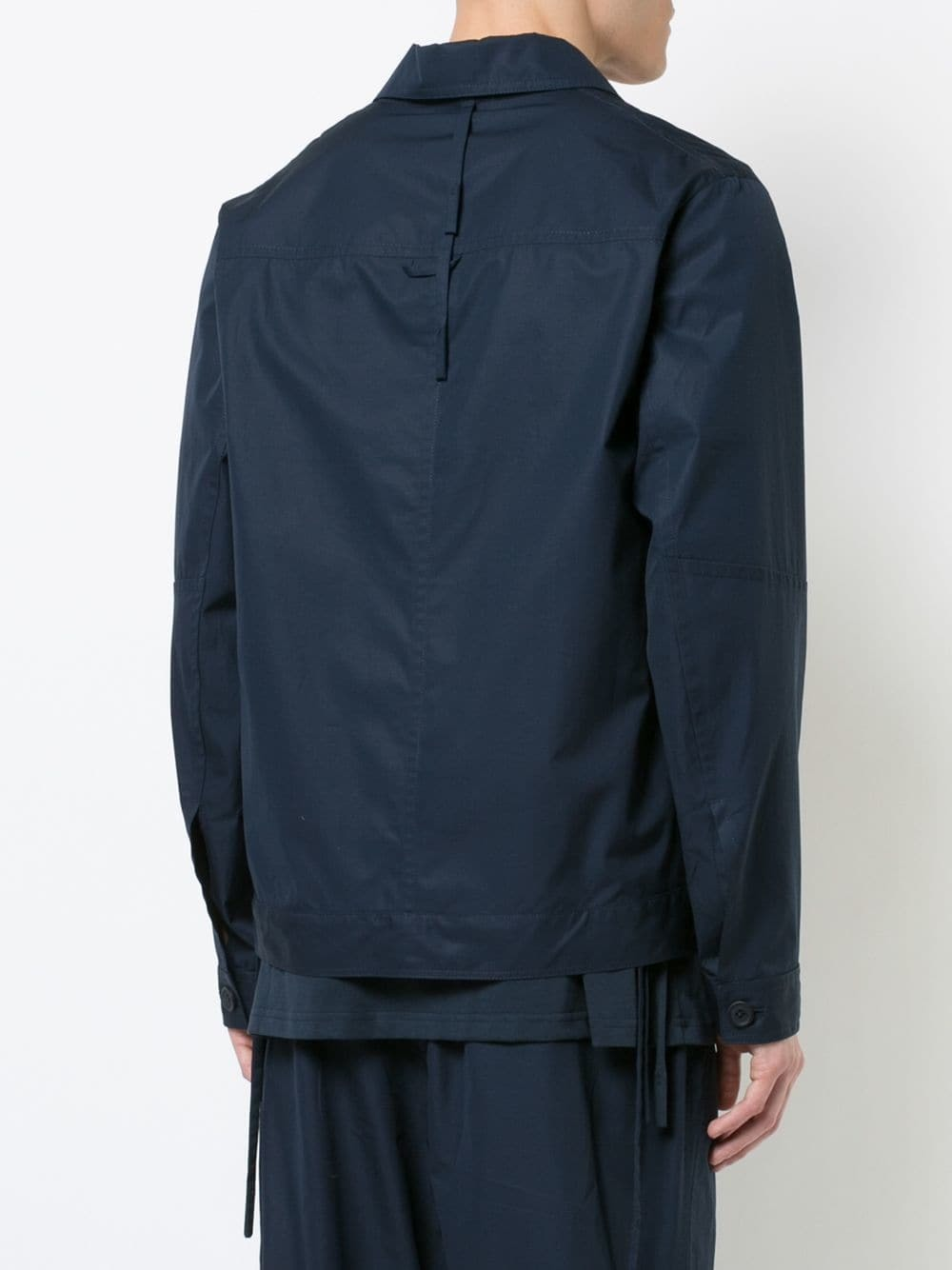 Veste-chemise bleu marine Craig Green