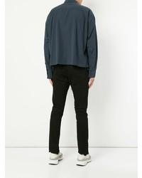 Veste-chemise bleu marine Unused