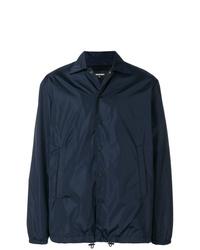 Veste-chemise bleu marine DSQUARED2