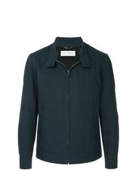 Veste-chemise bleu marine Gieves & Hawkes