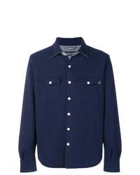 Veste-chemise bleu marine Jacob Cohen