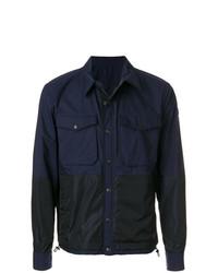 Veste-chemise bleu marine Moncler