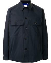 Veste-chemise bleu marine Paul Smith