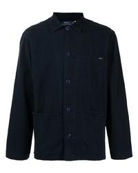 Veste-chemise bleu marine Polo Ralph Lauren