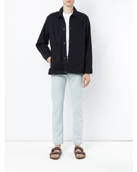 Veste-chemise bleu marine Egrey