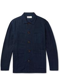 Veste-chemise bleu marine Universal Works