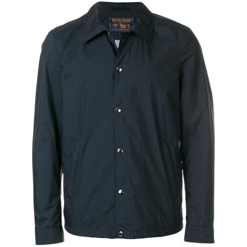 Veste-chemise bleu marine Woolrich