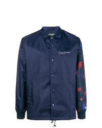 Veste-chemise bleu marine Yohji Yamamoto