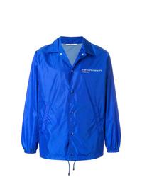Veste-chemise bleue Valentino