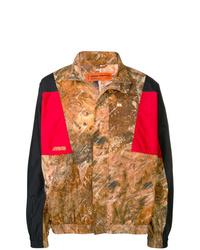 Veste-chemise camouflage marron Heron Preston