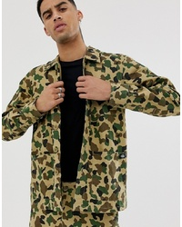 Veste-chemise camouflage olive Dickies
