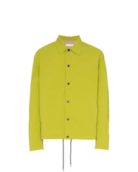Veste-chemise chartreuse Cmmn Swdn