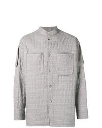 Veste-chemise écossaise grise Vivienne Westwood