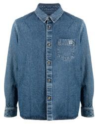 Veste-chemise en denim bleue A.P.C.