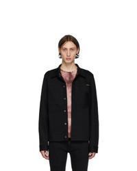 Veste-chemise en denim noire Nudie Jeans