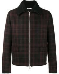 Veste-chemise en laine noire