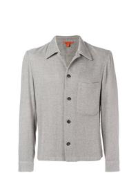Veste-chemise en tweed grise Barena