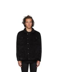 Veste-chemise en velours côtelé noire Naked and Famous Denim