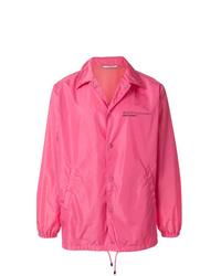 Veste-chemise fuchsia Valentino