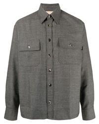 Veste-chemise gris foncé Marni