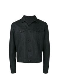 Veste-chemise gris foncé Tagliatore