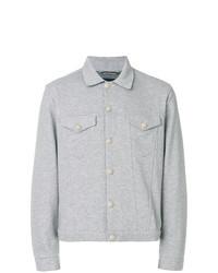 Veste-chemise grise