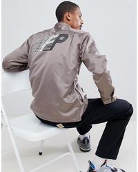 Veste-chemise imprimée grise