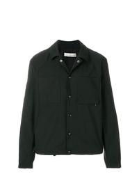 Veste-chemise imprimée noire Golden Goose Deluxe Brand
