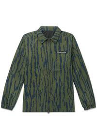 Veste-chemise imprimée olive Billionaire Boys Club