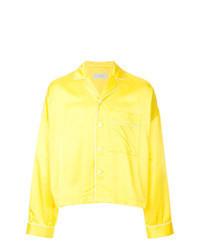 Veste-chemise jaune