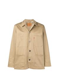 Veste-chemise marron clair Levi's