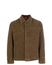 Veste-chemise marron Barena