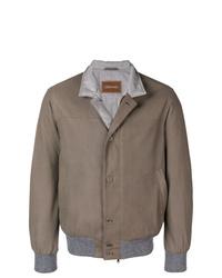 Veste-chemise marron Doriani Cashmere