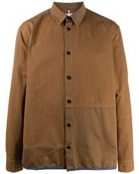 Veste-chemise marron Oamc