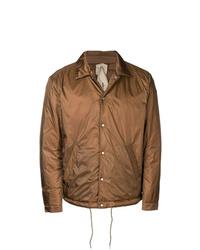 Veste-chemise marron Ten C