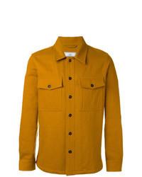 Veste-chemise moutarde