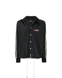 Veste-chemise noire et blanche Diesel