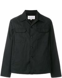Veste-chemise noire