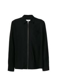 Veste-chemise noire AMI Alexandre Mattiussi