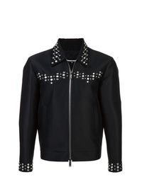 Veste-chemise noire DSQUARED2