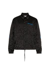 Veste-chemise noire Facetasm