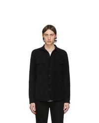 Veste-chemise noire Frame